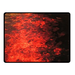 Reflections at Night Fleece Blanket (Small)