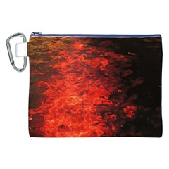 Reflections at Night Canvas Cosmetic Bag (XXL)