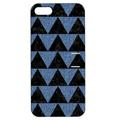 TRI2 BK-MRBL BL-LTHR Apple iPhone 5 Hardshell Case with Stand