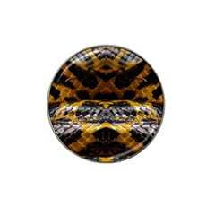 Textures Snake Skin Patterns Hat Clip Ball Marker (4 pack)
