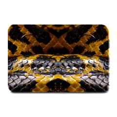 Textures Snake Skin Patterns Plate Mats