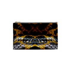 Textures Snake Skin Patterns Cosmetic Bag (Small)