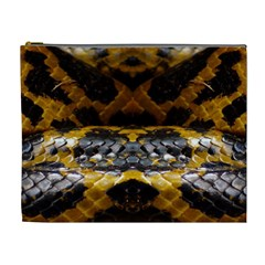 Textures Snake Skin Patterns Cosmetic Bag (XL)