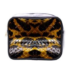 Textures Snake Skin Patterns Mini Toiletries Bags
