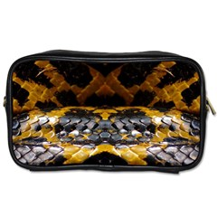 Textures Snake Skin Patterns Toiletries Bags