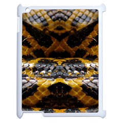 Textures Snake Skin Patterns Apple iPad 2 Case (White)