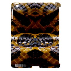 Textures Snake Skin Patterns Apple iPad 3/4 Hardshell Case (Compatible with Smart Cover)