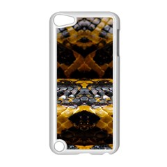 Textures Snake Skin Patterns Apple iPod Touch 5 Case (White)