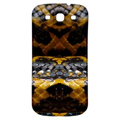 Textures Snake Skin Patterns Samsung Galaxy S3 S III Classic Hardshell Back Case