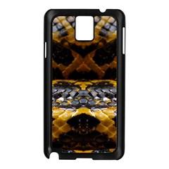 Textures Snake Skin Patterns Samsung Galaxy Note 3 N9005 Case (Black)