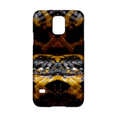 Textures Snake Skin Patterns Samsung Galaxy S5 Hardshell Case