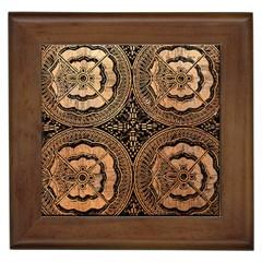 The Art Of Batik Printing Framed Tiles