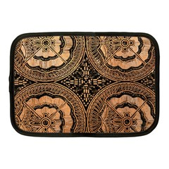 The Art Of Batik Printing Netbook Case (Medium)