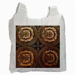 The Art Of Batik Printing Recycle Bag (Two Side)