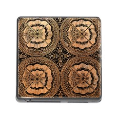The Art Of Batik Printing Memory Card Reader (square)
