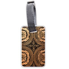 The Art Of Batik Printing Luggage Tags (Two Sides)