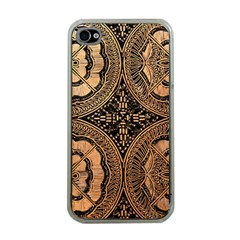 The Art Of Batik Printing Apple iPhone 4 Case (Clear)