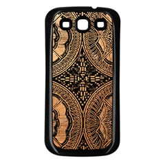 The Art Of Batik Printing Samsung Galaxy S3 Back Case (black)
