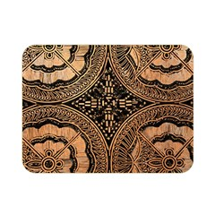 The Art Of Batik Printing Double Sided Flano Blanket (mini)