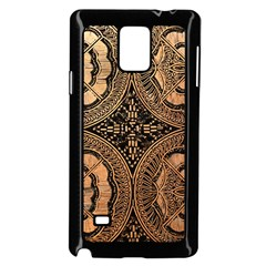 The Art Of Batik Printing Samsung Galaxy Note 4 Case (black)