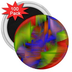 Texture Pattern Programming Processing 3  Magnets (100 pack)