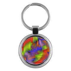 Texture Pattern Programming Processing Key Chains (Round)
