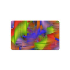 Texture Pattern Programming Processing Magnet (name Card)