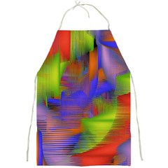 Texture Pattern Programming Processing Full Print Aprons