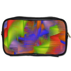 Texture Pattern Programming Processing Toiletries Bags