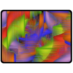 Texture Pattern Programming Processing Fleece Blanket (Large)