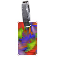 Texture Pattern Programming Processing Luggage Tags (Two Sides)
