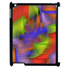 Texture Pattern Programming Processing Apple iPad 2 Case (Black)