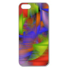 Texture Pattern Programming Processing Apple Seamless iPhone 5 Case (Clear)