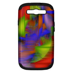 Texture Pattern Programming Processing Samsung Galaxy S III Hardshell Case (PC+Silicone)