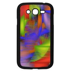 Texture Pattern Programming Processing Samsung Galaxy Grand DUOS I9082 Case (Black)