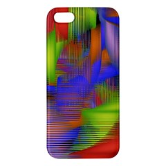 Texture Pattern Programming Processing iPhone 5S/ SE Premium Hardshell Case