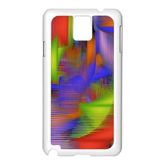Texture Pattern Programming Processing Samsung Galaxy Note 3 N9005 Case (White)