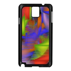 Texture Pattern Programming Processing Samsung Galaxy Note 3 N9005 Case (Black)