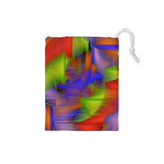 Texture Pattern Programming Processing Drawstring Pouches (Small)