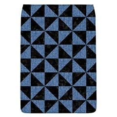 TRI1 BK-MRBL BL-LTHR Flap Covers (L)