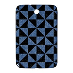 TRI1 BK-MRBL BL-LTHR Samsung Galaxy Note 8.0 N5100 Hardshell Case