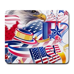 United States Of America Usa  Images Independence Day Large Mousepads