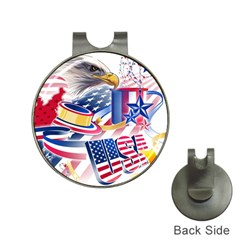 United States Of America Usa  Images Independence Day Hat Clips With Golf Markers