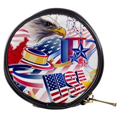 United States Of America Usa  Images Independence Day Mini Makeup Bags