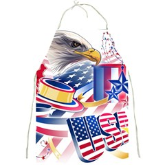 United States Of America Usa  Images Independence Day Full Print Aprons