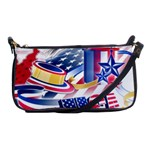 United States Of America Usa  Images Independence Day Shoulder Clutch Bags Front