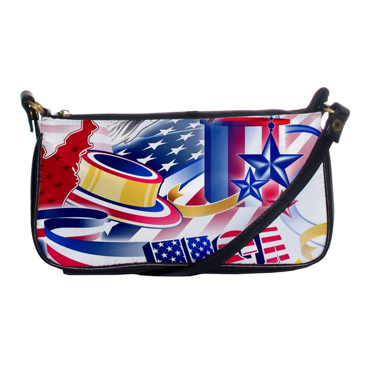 United States Of America Usa  Images Independence Day Shoulder Clutch Bags