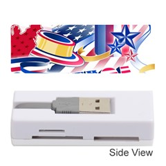 United States Of America Usa  Images Independence Day Memory Card Reader (Stick)