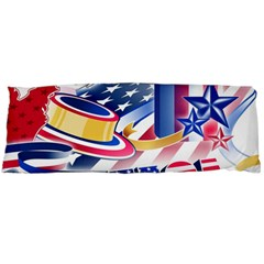United States Of America Usa  Images Independence Day Body Pillow Case Dakimakura (two Sides)