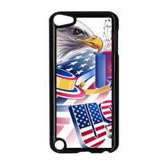 United States Of America Usa  Images Independence Day Apple Ipod Touch 5 Case (black)